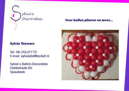 Ballon decoraties logo